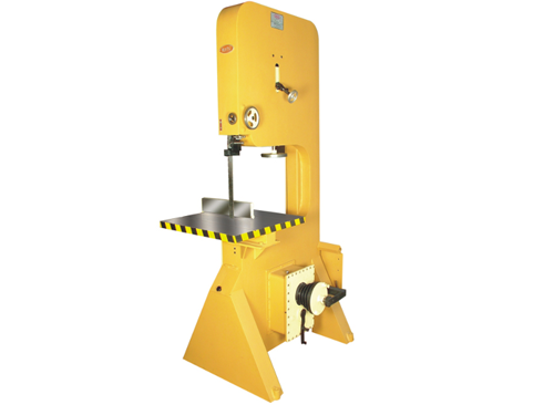 wood & metal cutting bandsaw with gear box machine